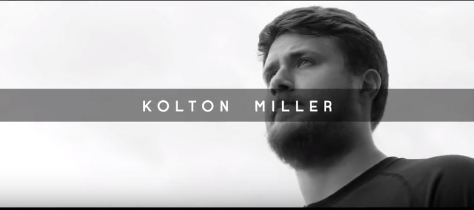 NFL Prospect Kolton Miller Training For Combine