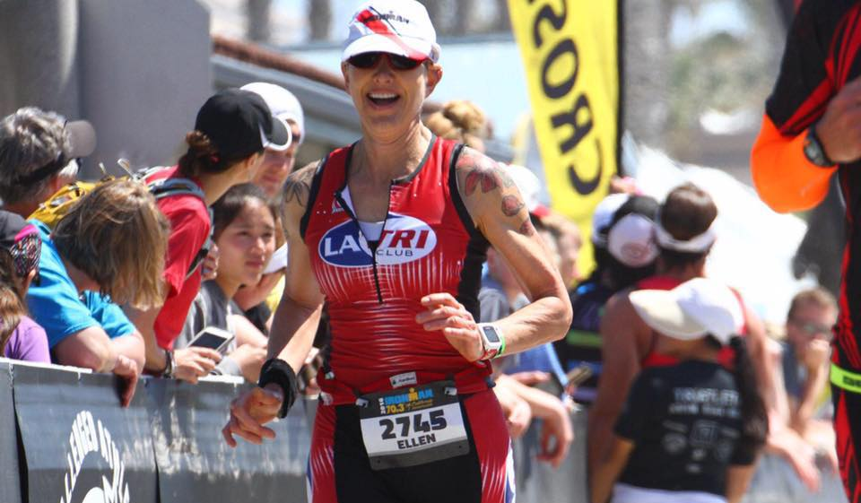 <b>Ellen Towles</b> Ironman - 54 year old old iron woman on her injury, training and passion