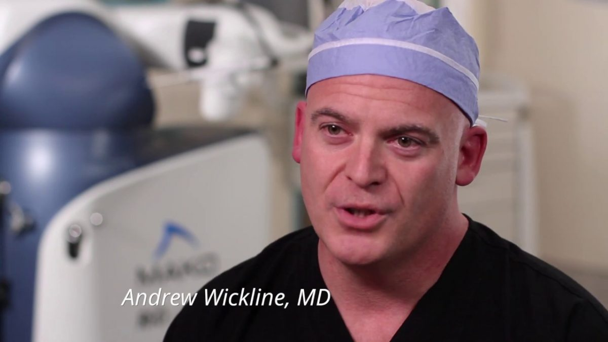 Welcome Dr. Wickline
