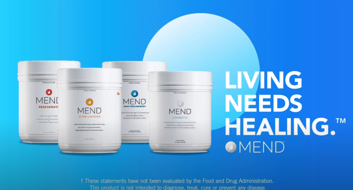 MEND Launches Campaign Living Needs Healing.™